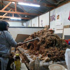 L'usine de papier fait main