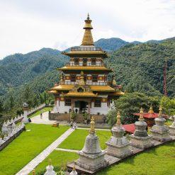 Le stupa de Khamsum Yulley Namgyal