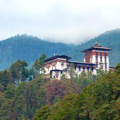 La ville de Jakar et son dzong